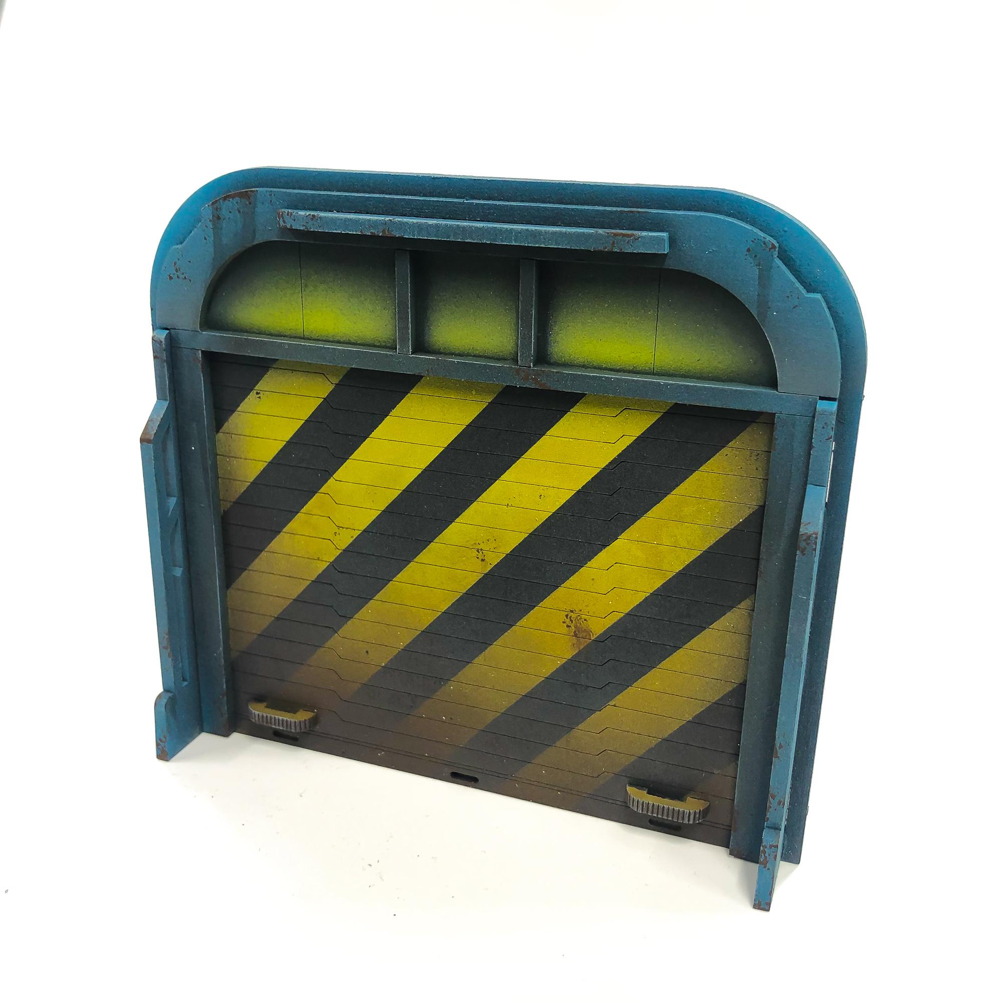 Garage Door Augment Death Ray Designs Tabletop