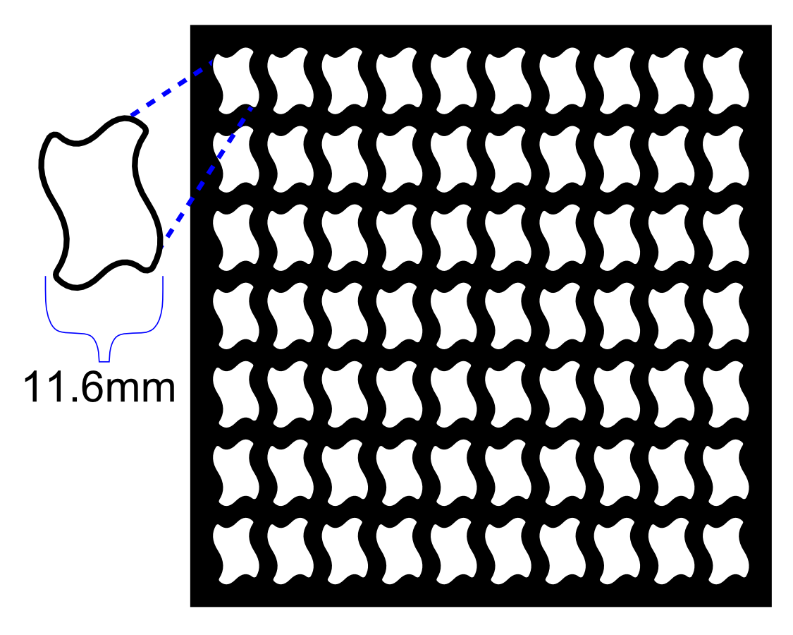 Terrain Mold: Wavy Paver